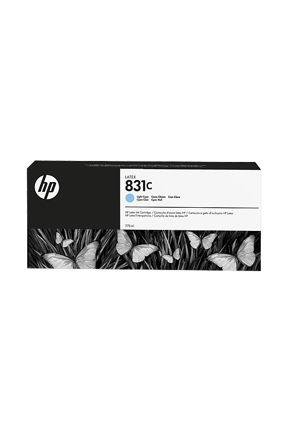 HP 831C  Latex da 775 ml - Light Ciano