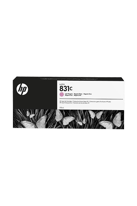 HP 831C Latex  da 775 ml - magenta chiaro