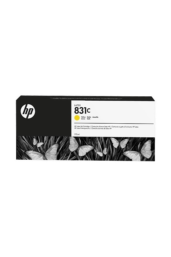 HP 831C Latex da 775 ml - giallo