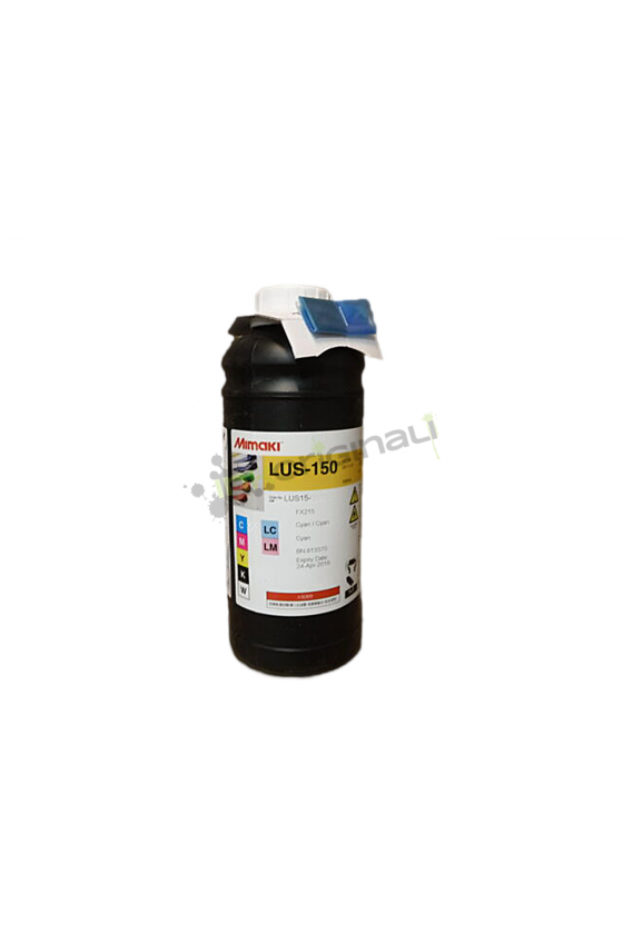 Mimaki LUS150 Cyan Ink, 1L bottle