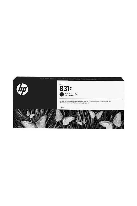 HP 831C Latex da 775 ml - nero