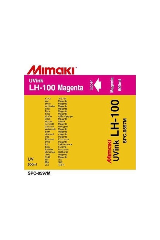 LH100 UV LED MAGENTA SACCA 600ML