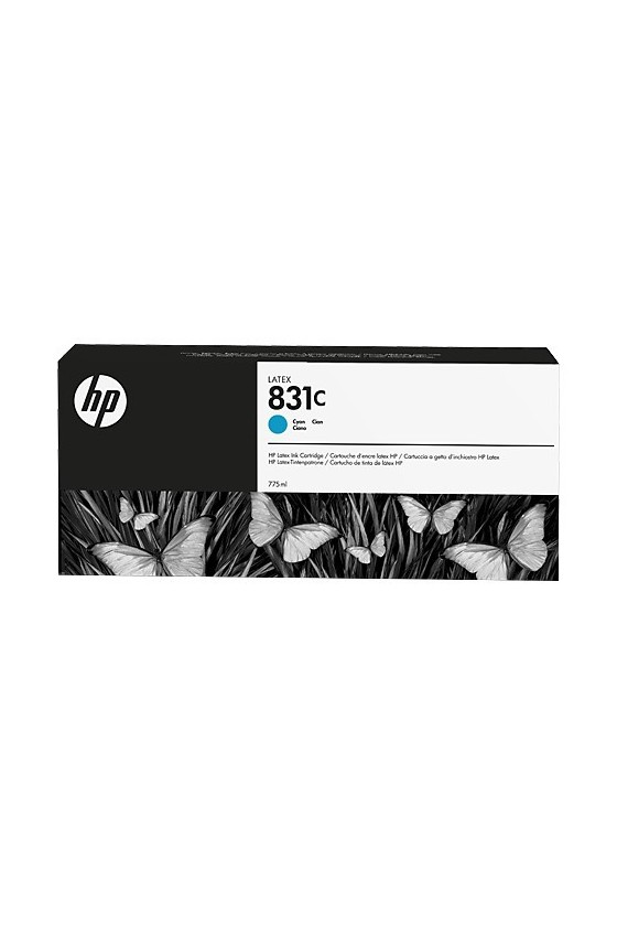 HP 831C Latex da 775 ml - ciano