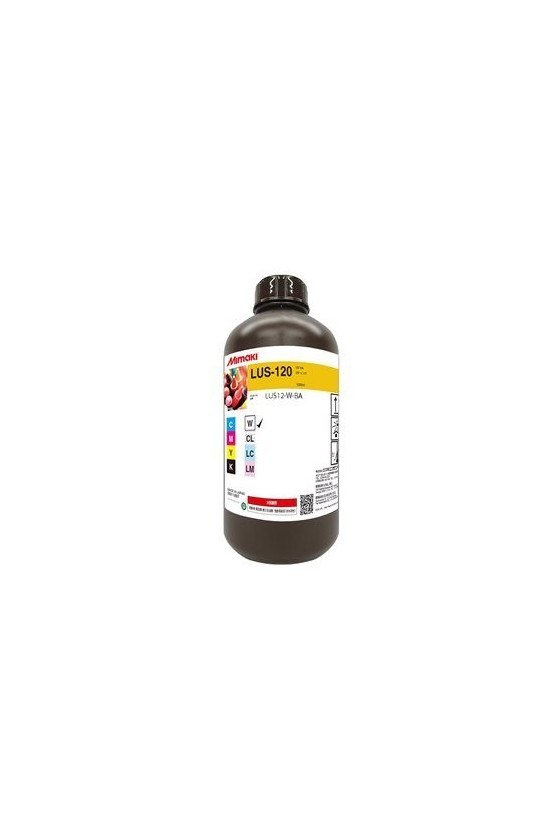 LUS120 UV Ink White 1L
